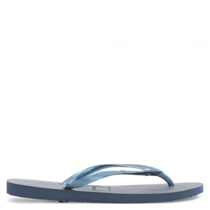 Havaianas Navy Rubber Seasons Diamante Flip Flop