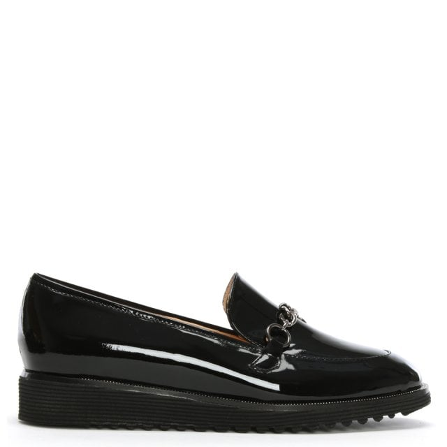 d6ccb01e25d Daniel Nessa Black Patent Leather Loafers