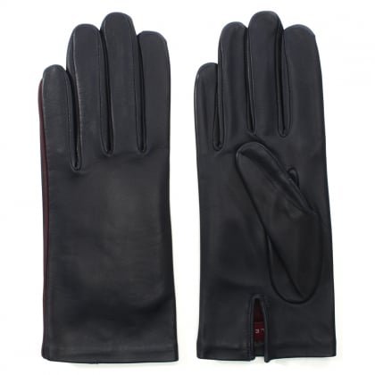 New Kate Navy Leather Gloves