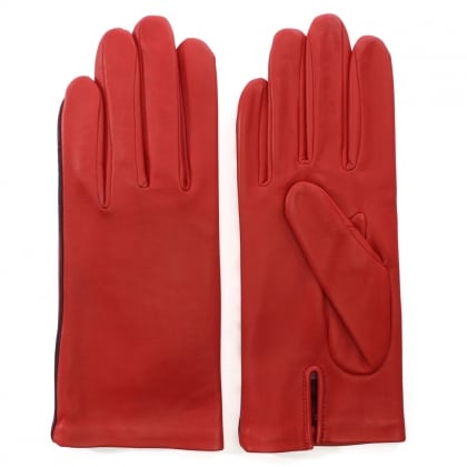 New Kate Red Leather Gloves
