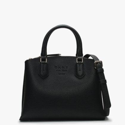 91f3375f9 Noho Black Pebbled Leather Satchel Bag. Free Standard UK Delivery