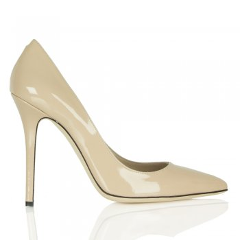 Nude Patent Mustio Court Shoes