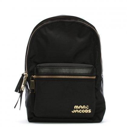 Nylon Black Sport Backpack