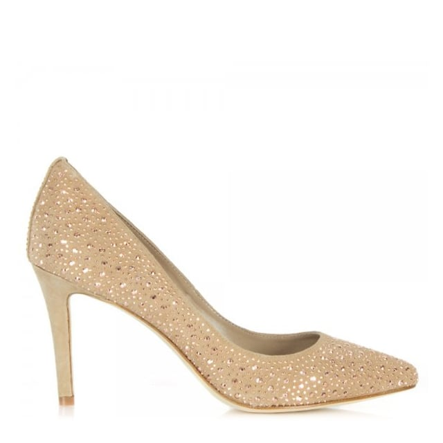 Oliba Crystal Embellished Court Shoe