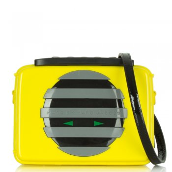 Out Loud Out Loud Yellow Clutch Bag