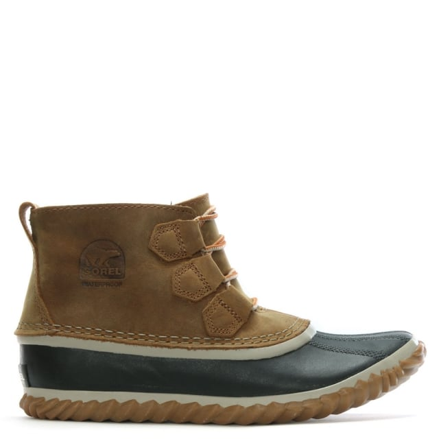Sorel Out N About Elk Leather Duck Boots