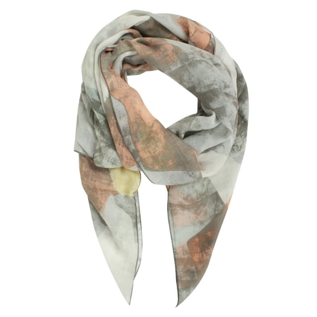 Patterned Muticoloured Light Weight Scarf