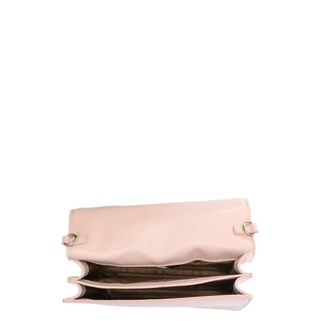 f2111e63b09 Love Moschino Phoebe Pink Mini Heart Cross-Body Bag