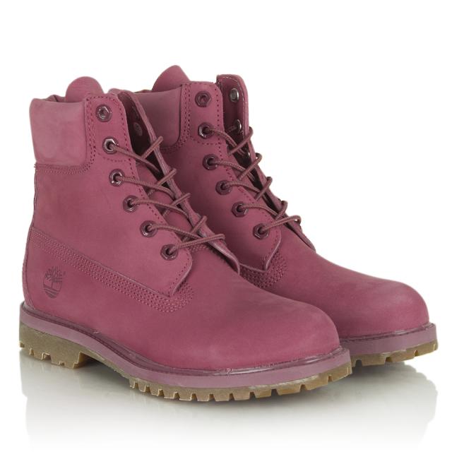 Timberland Pink Women S 6 Inch Premium Waterproof Boot