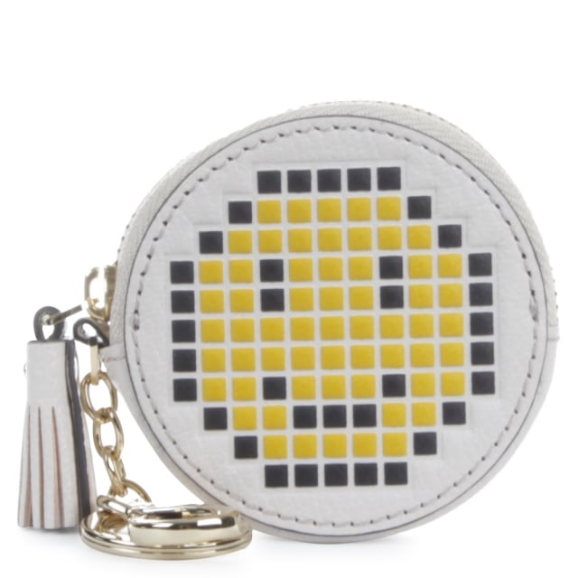 Pixel Smiley Coin Purs