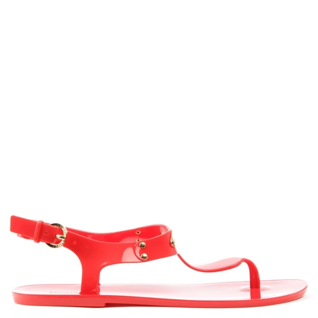 Plate Jelly Coral Reef Toe Post Sandal