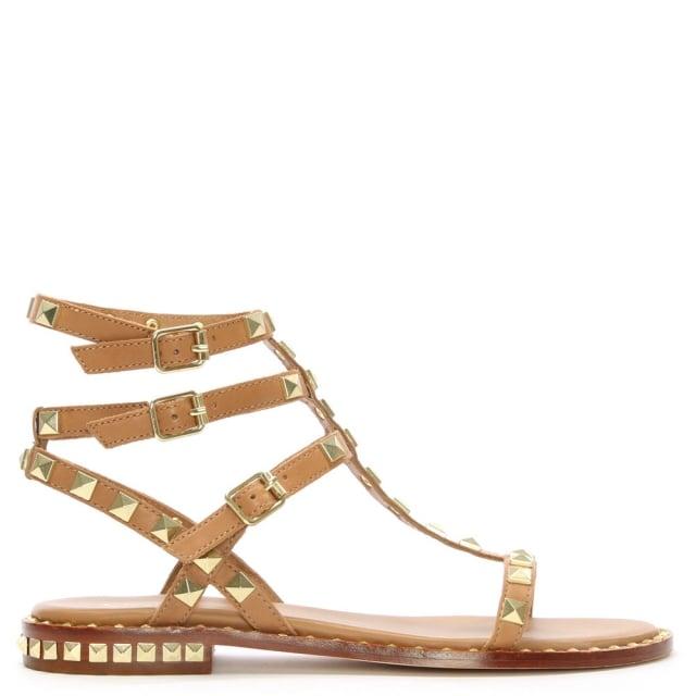 Sandales Cloutées De Cendres - Métalliques SmWCMN