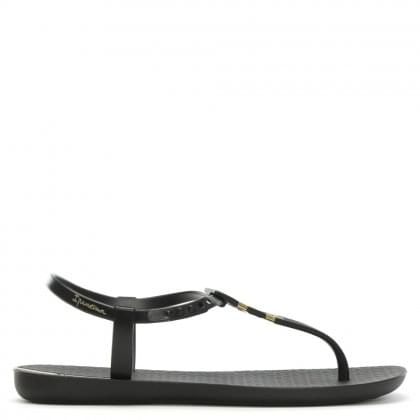 Pre Sunray Black Toe Post Sandals