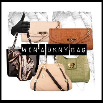 Refer a friend to Facebook and win a DKNY bag of your choice from Daniel Footwear