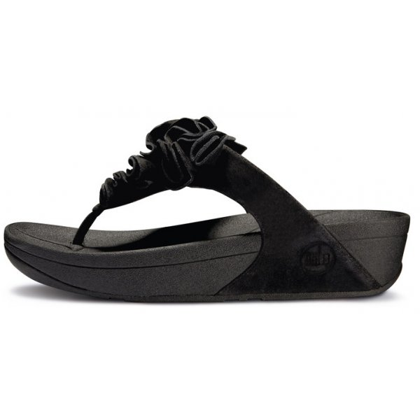 fitflop frou black size 7