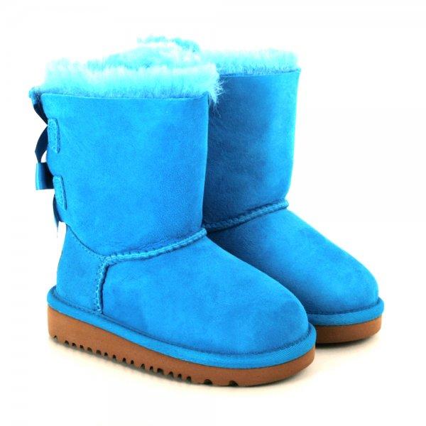 UGGs Bailey Bow Blue