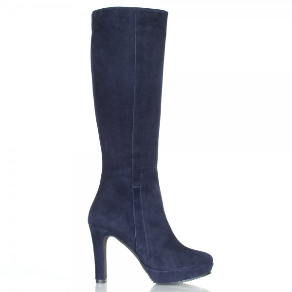 daniel navy suspicious women s knee high boot
