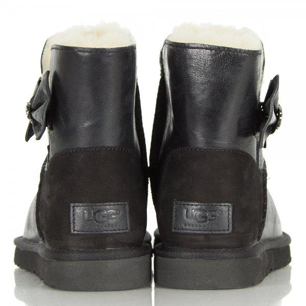 UGG Mini Bailey Bow Black