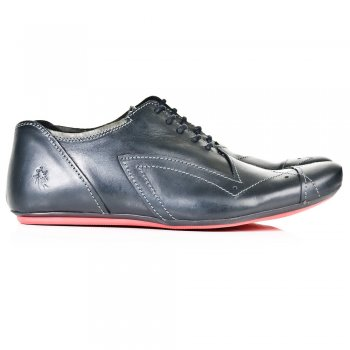Fly London Black A141793 Mens Lace Up Shoe