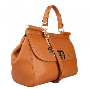 DKNY Tan R1211708 Women's Satchel Bag