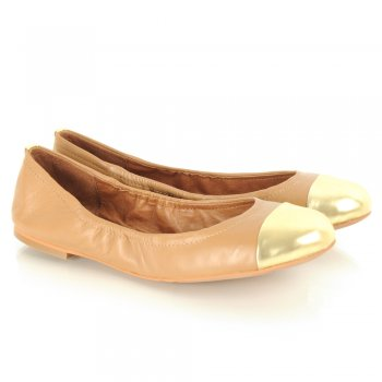 Sam Edelman Tan Baxton Women's Flat Pump