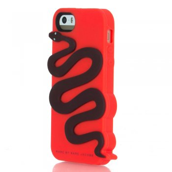 Marc Jacobs Red Royal Python iPhone 5/5s Case