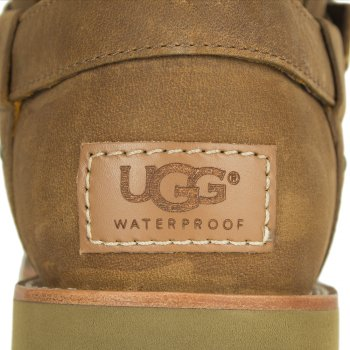UGG Noira Acorn Leather Women's Flat Calf Boot