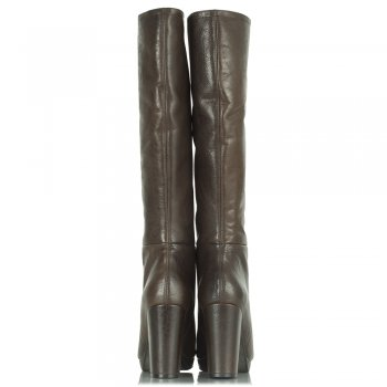 Daniel Brown Leather Yoshima Women's Knee High Boot