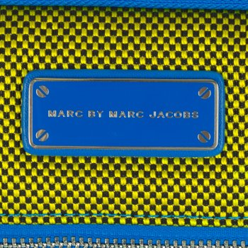 Marc Jacobs Blue Fabric BMX 13 Computer Case