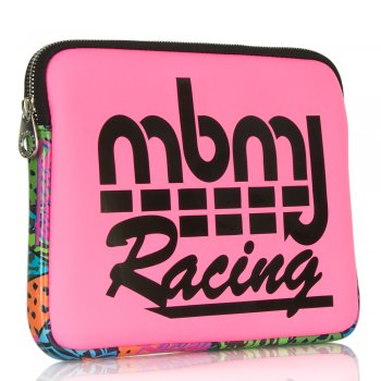 Marc Jacobs MBMJ Racing Pink Coated Tablet Case