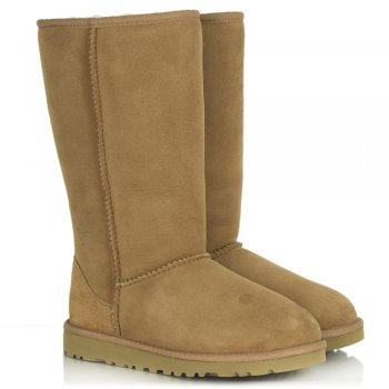 UGG Kids Classic Chestnut Tall Sheepskin Boot