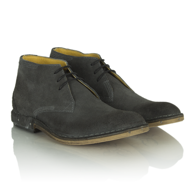 Fly London Grey Suede Hans Men's Desert Boot