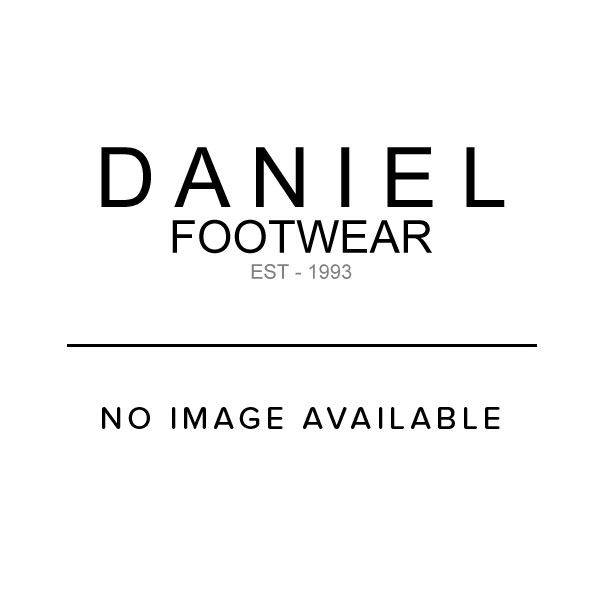 Daniel Piccadilly Circus White Leather Platform Trainer