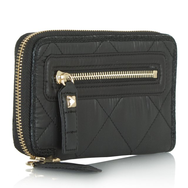 Juicy Couture Hollywood Continental Black Wallet
