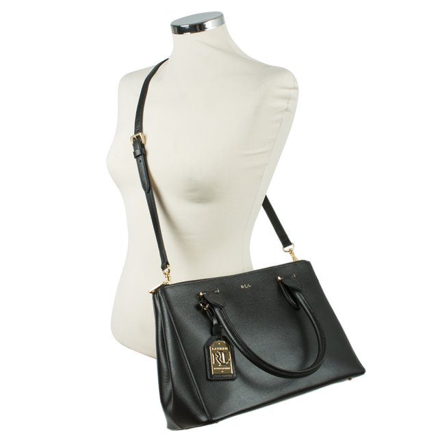 Lauren by Ralph Lauren RL NEWBURY ZIPPER SHOPPER Bkl