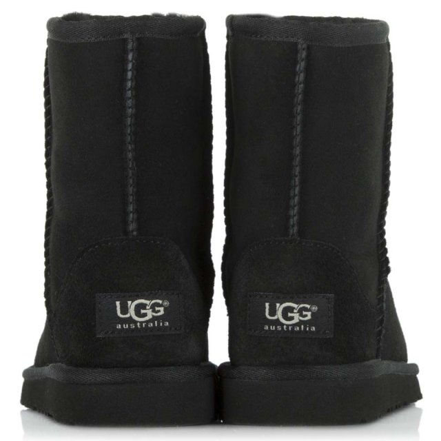UGG Kids Classic Black Twinface Boot