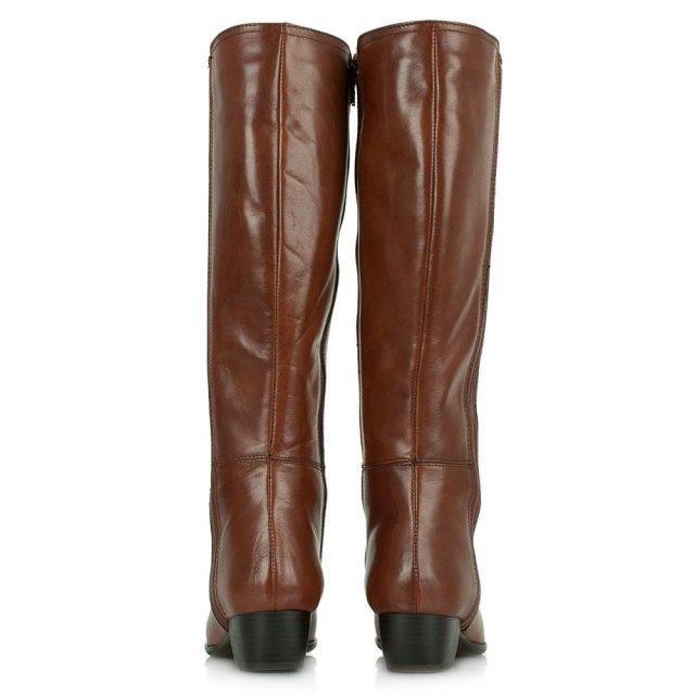 Lamica Acimal 52 Tan Leather Knee High Boot