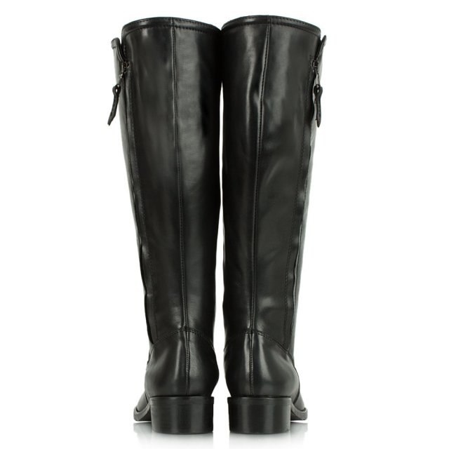 Lamica Acimal 48 Black Leather Low Riding Boot