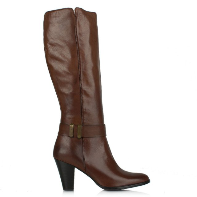 Lamica Acimal 106 Brown Leather Knee High Boot