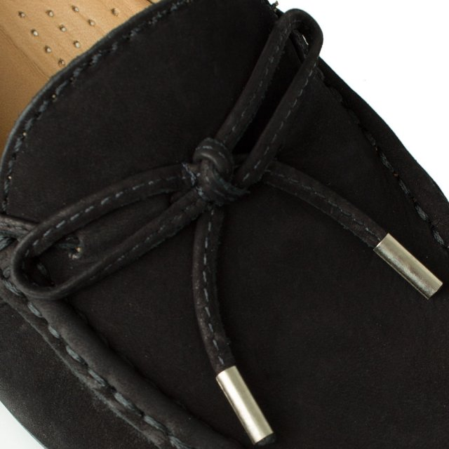 Daniel Alexandria Black Suede Driving Loafer