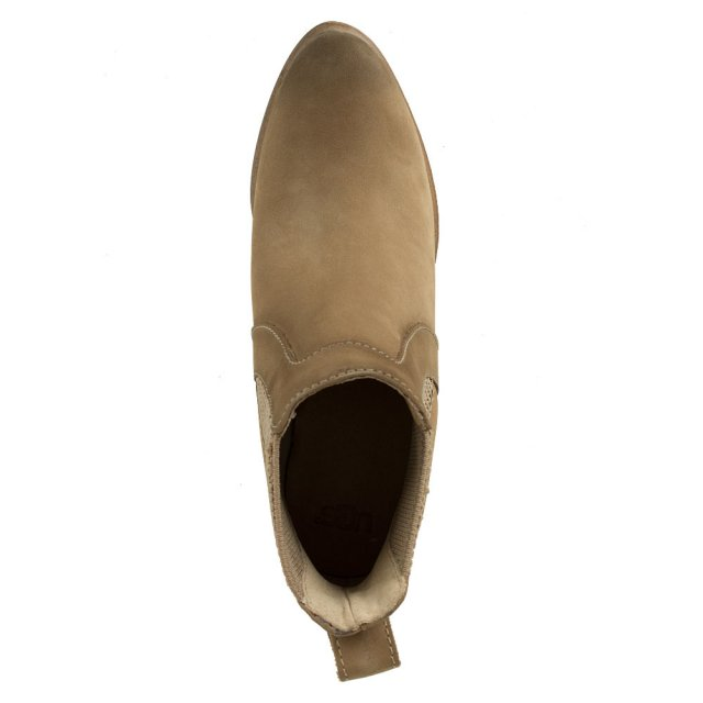 UGG Cobie Fawn Leather Nubuck Chelsea Boot