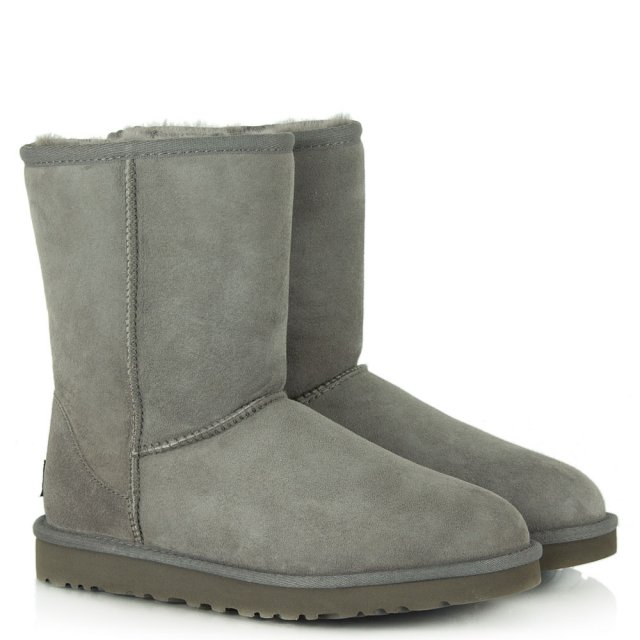 UGG Classic Short Grey Twinface Boot
