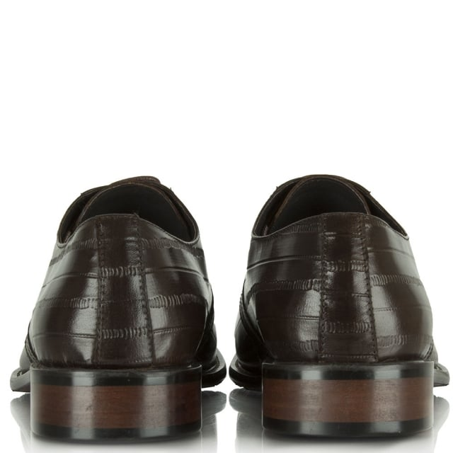 Daniel Brown Leather Lulworth Lace Up