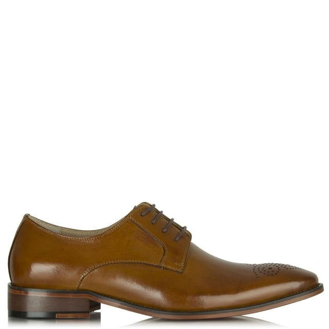 Daniel Tan Leather Sturminster Brogue