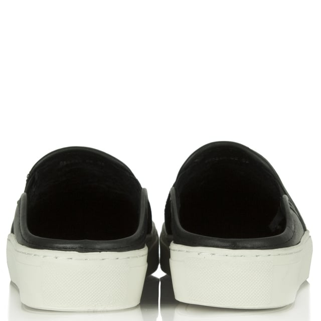 Bronx Ronxy 55 Black Backless Trainer