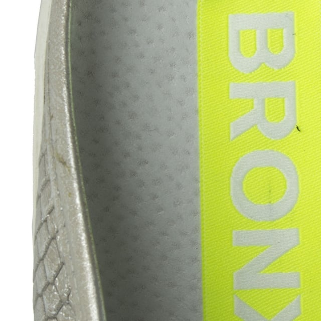 Bronx Ronxy 55 Silver Metallic Backless Trainer