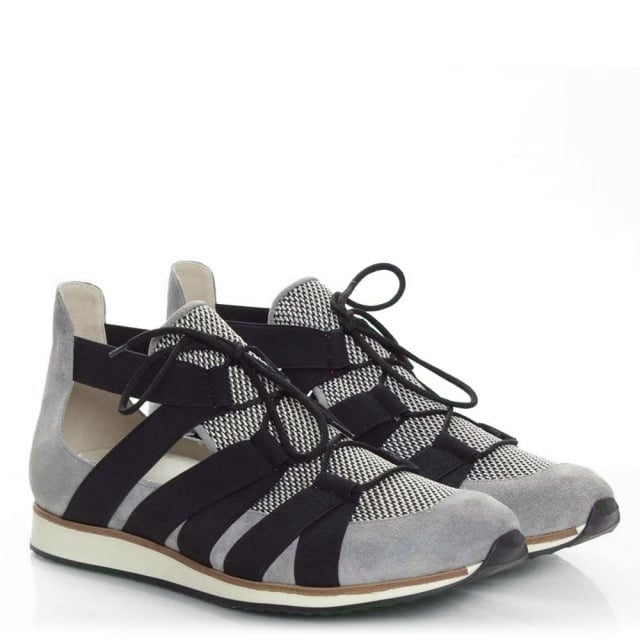 Daniel Tulsa Grey Suede Cut Away Trainer