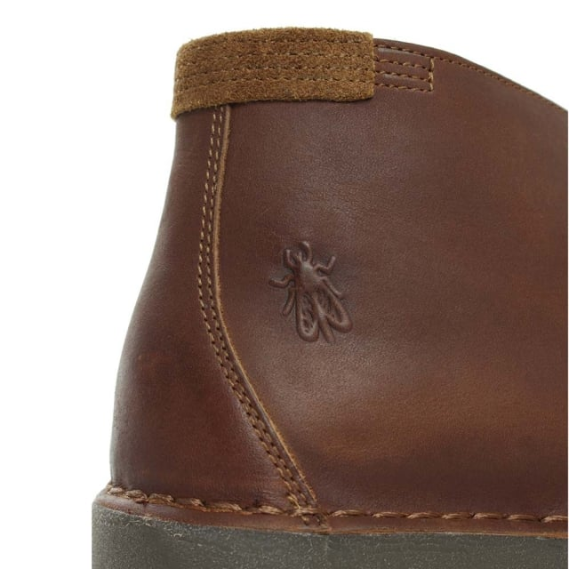 Fly London Cove Tan Suede Desert Boot