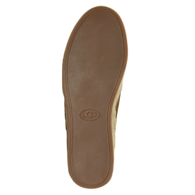 UGG Tippie Tan Nubuck Slip On Pump