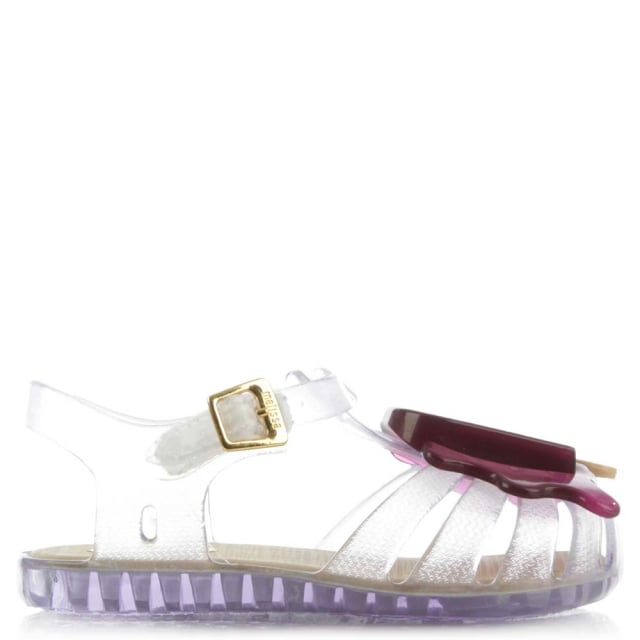 Melissa Mini Aranha Lollypop Clear Jelly Shoe